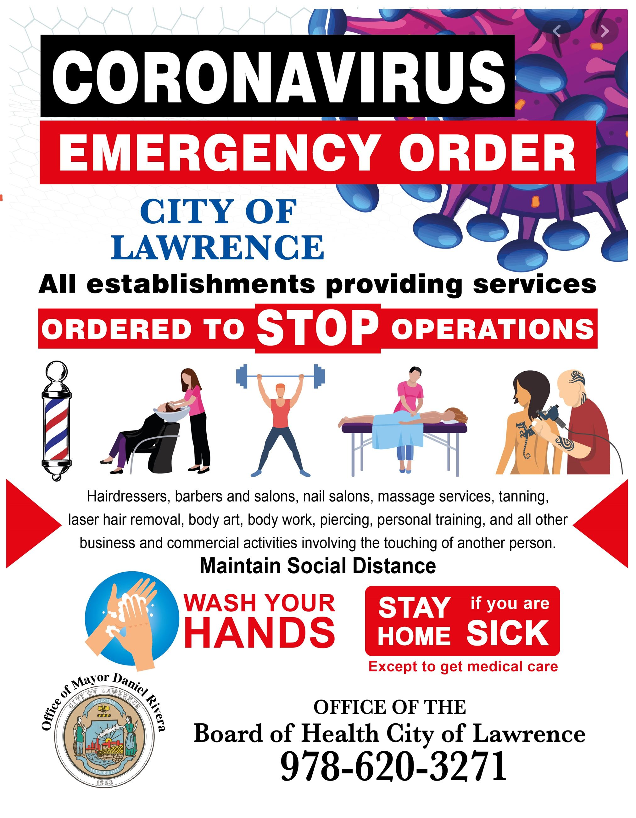 CITY OF LAWRENCE - CORONAVIRUS BOARD OF HEALTH 3