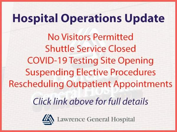 Hospital operations update
