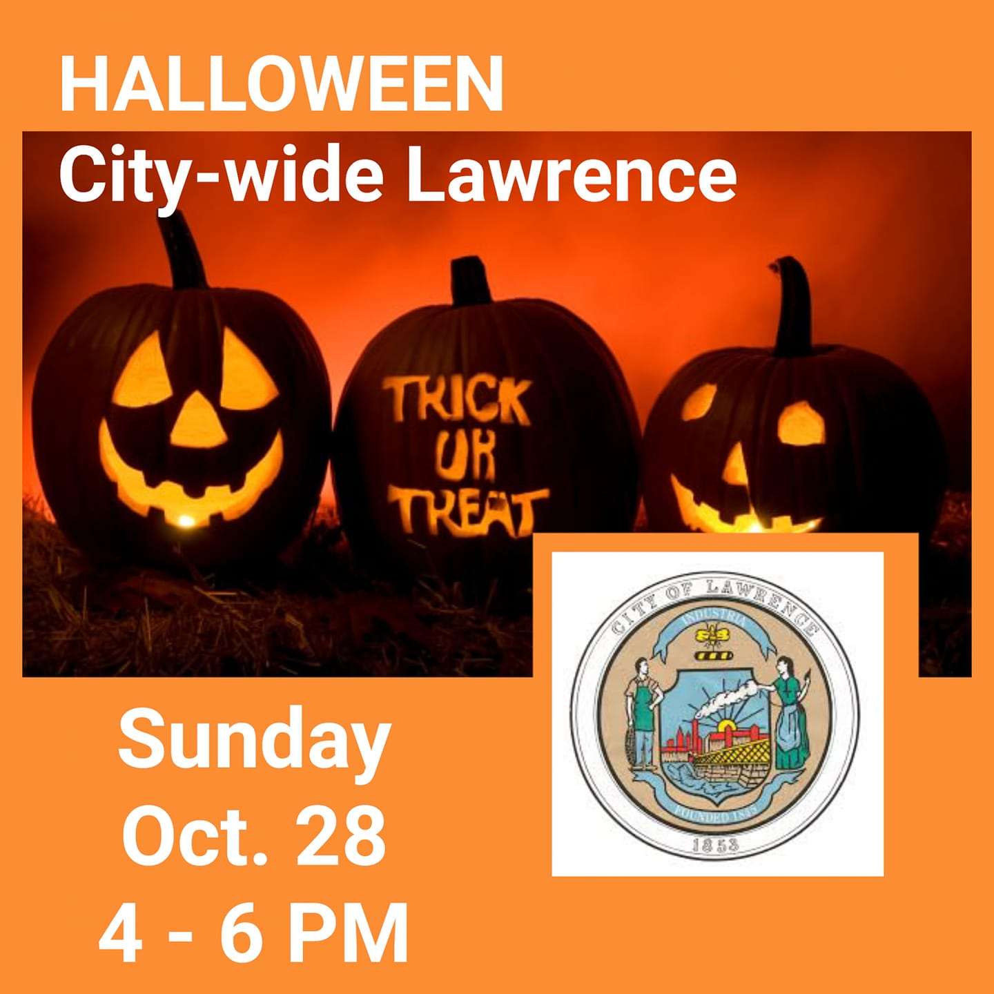 Lawrence Ma Halloween Treat Or Trick 2020 Lawrence, MA